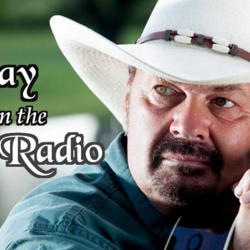richard lynch wearing blue jean shirt and white cowboy hat