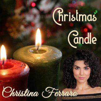 Christina Ferraro Christmas Candle